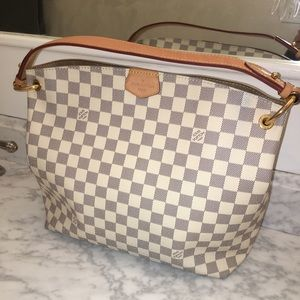 Authentic Louis Vuitton graceful Pm Azur